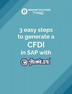 3 easy steps to generate a CFDI in SAP with e-factura