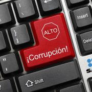 Teclado con botón de ALTO Corrupción